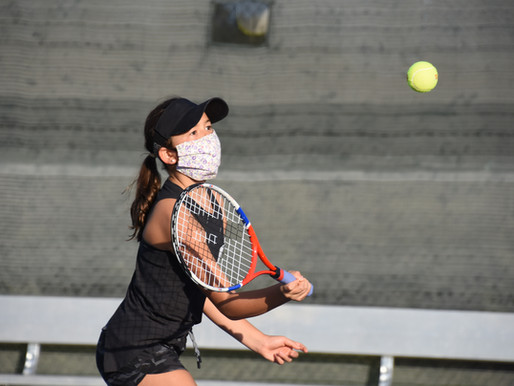 Week two of Middle School Clinics focus on forehands