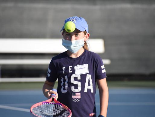 LTTA kicks-off Middle School Tennis Clinics