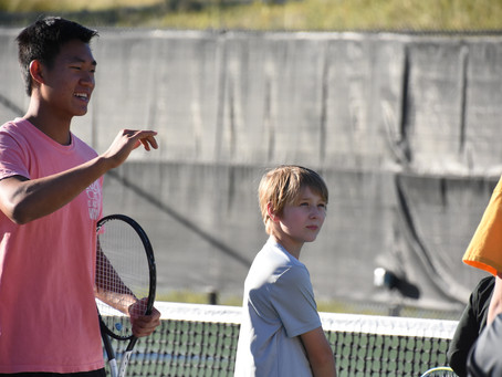Delta Tennis helps parents and kids learn the sport together