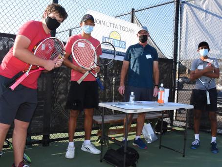 Delta Tennis provides equipment to local Community Tennis Associations