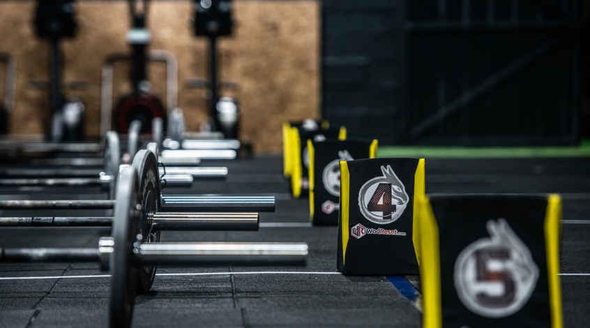 Zona entrenamiento CrossFit DRK Drako