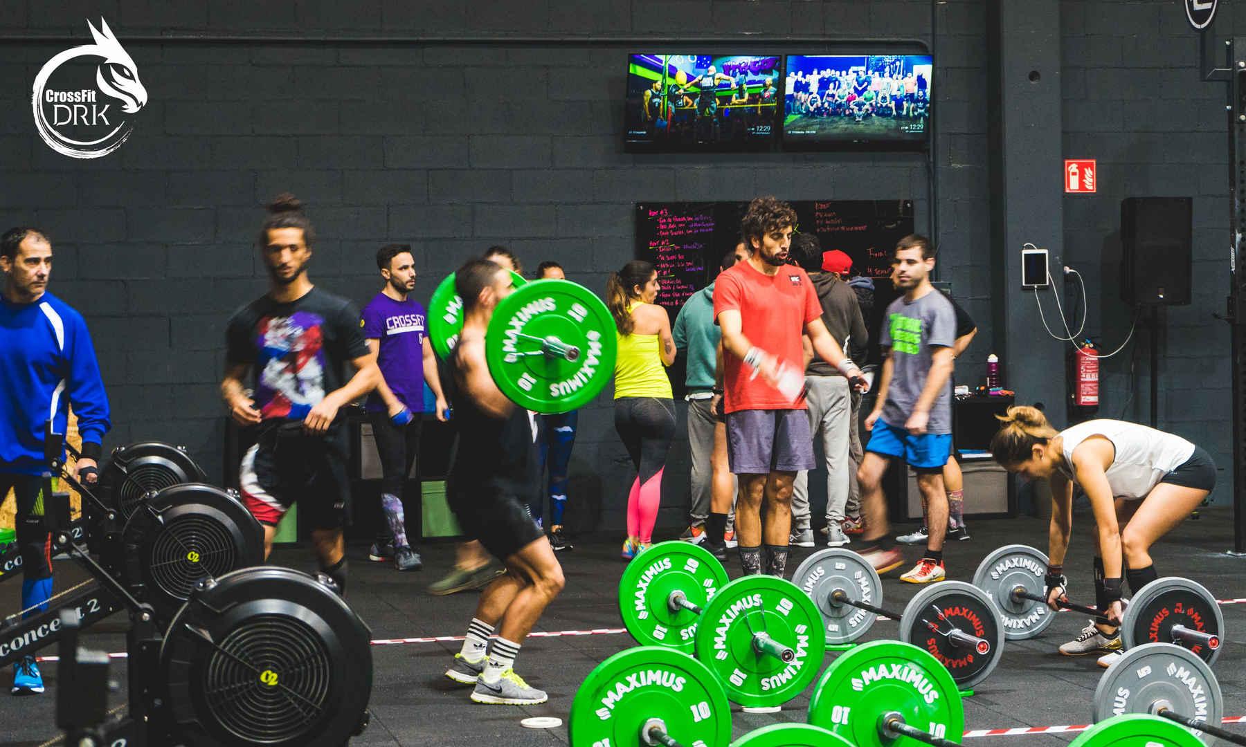 Competición por equipos - CrossFit DRK - Bergondo