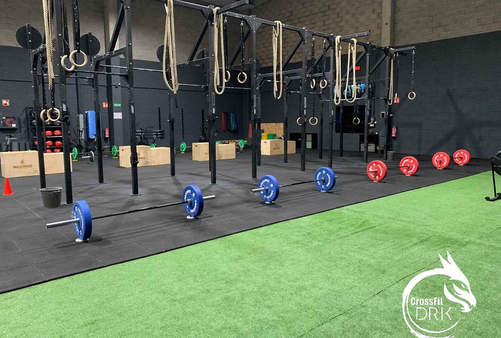 Zona técnica CrossFit DRK - Bergondo - Coruña