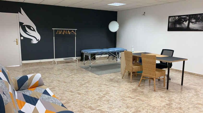 Sala de fisioterapia y nutrición