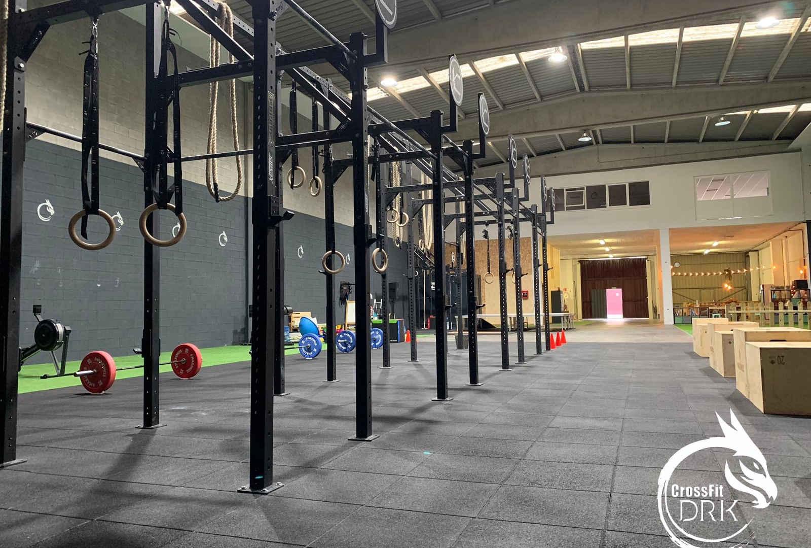 Zona técnica CrossFit DRK - Bergondo