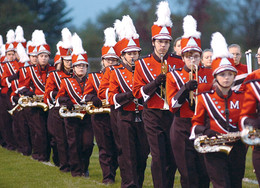 Montgomery Band Plays at Inauguration!