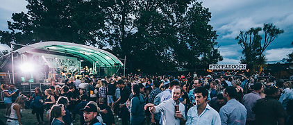 Music Festival crowd New Years Eve event Wanaka