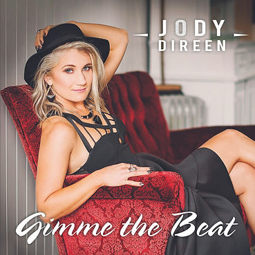 Jody Direen Gimme the Beat Single Cover Country Pop Artist