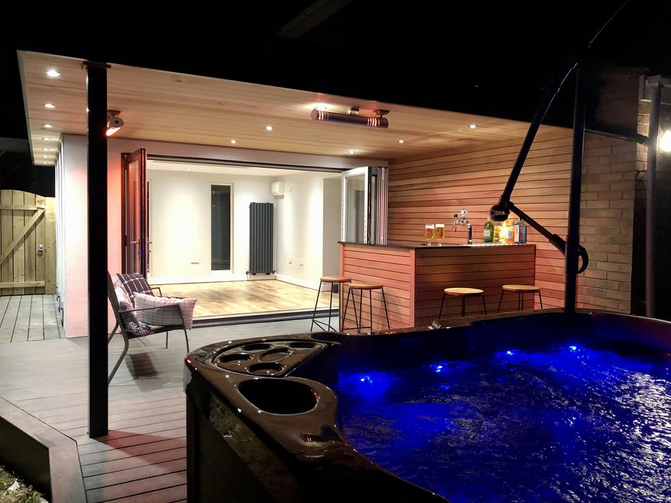 Gardenroom house extension , Teeside
