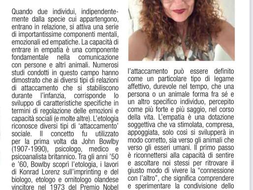 """In collaborazione con il Dr Domenico Chiericozzi ( editor director ) """" Guida citta' a 4 zampe""""RN2021"""