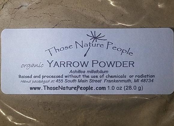 Yarrow Flower Powder 1oz
