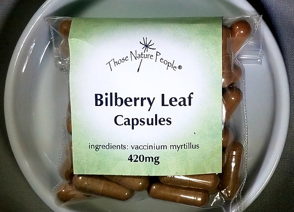 Bilberry Leaf Capsules