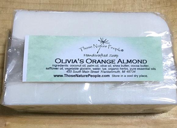 Olivia's Orange Almond Luxury Soap