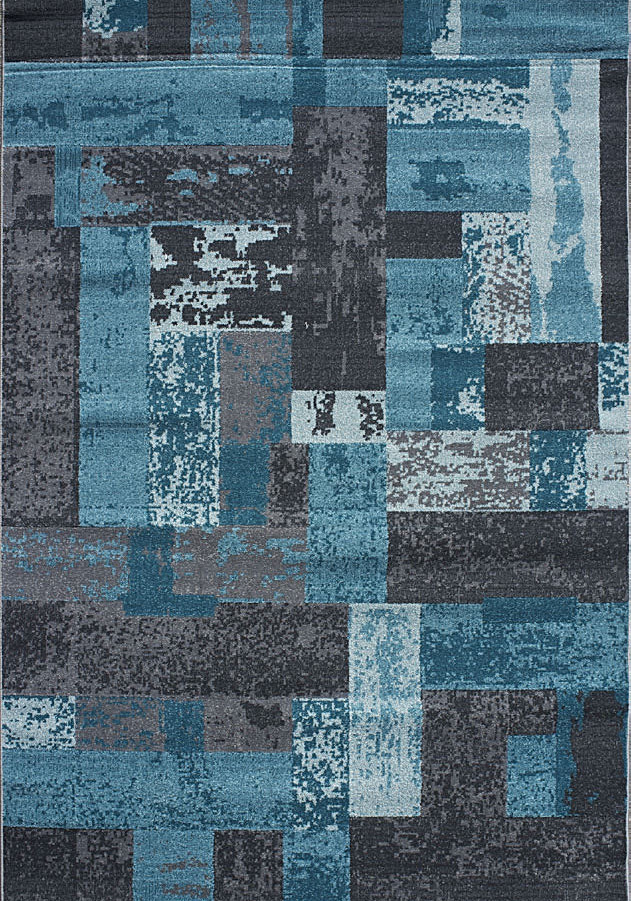 Amalfi Shades of Abstract Area Rug 3330.