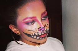 Gatito de #aliceinwonderland 💀- #makeuptrials #halloweenmakeup #halloweenmakeupideas #makeup #mua #