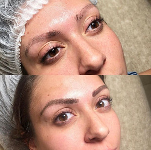 BEFORE _ AFTER (microblading)__Con #micr