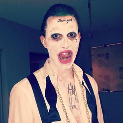 The Joker ❗️DAMAGED #suicidesquad #damaged #suicidésquadmakeup #jokermakeup #jarethleto