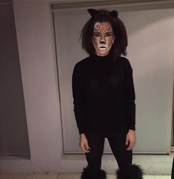 Momma still got it ' 🐯 #mom #makeup  #leopardmakeup #halloweenmakeupideas
