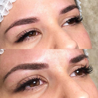 BEFORE •  AFTER_MICROBLADING. Cejas perf