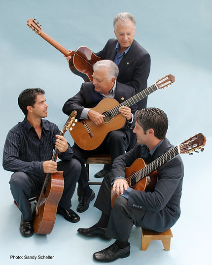 For over 40 years three generations of Romeros have inspired composers to  enrich the repertoire of guitar quartet with orchestra 668eee8fde9