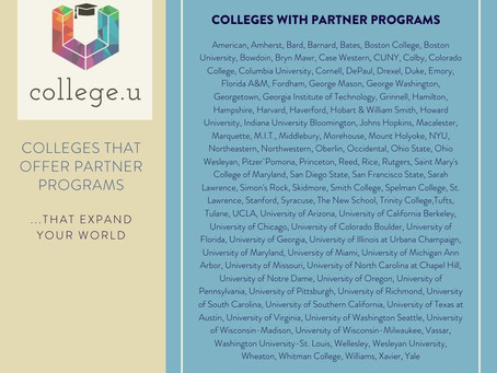 Match College Programs to Your College Goals