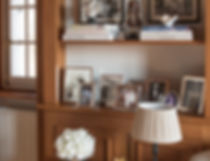 Jennie Schmid Design, Interior Design, Designer, Switzerland, Lausanne, Villa, Portfolio, living room, sitting room, drawing room, Buddha statue from Myanmar