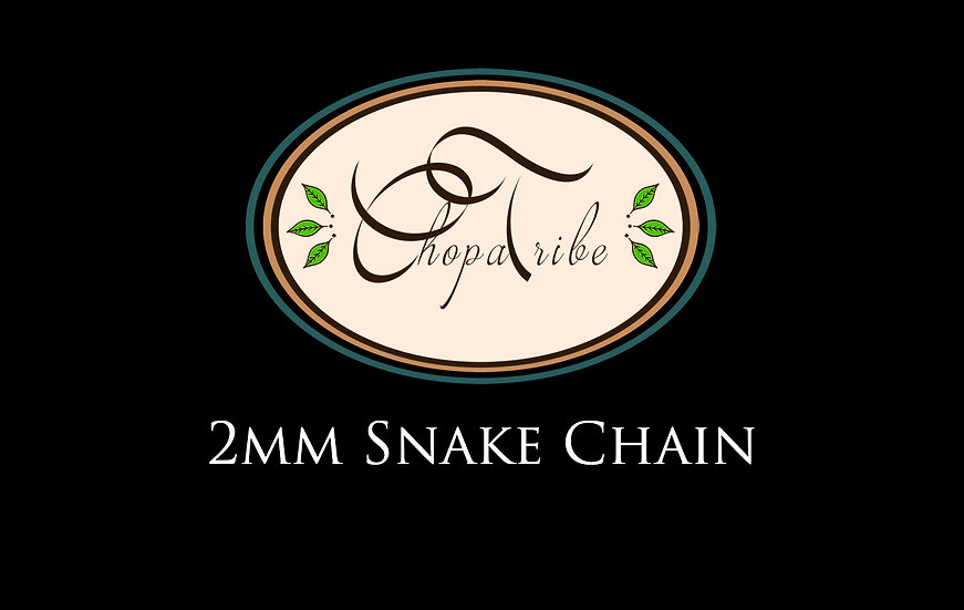 2mm Snake chain. 925 Sterling silver