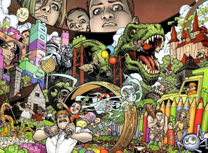 Inside Bode's mind in the Locke & Key graphic novels. Image: IDW