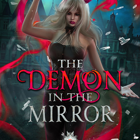 New Cover for The Demon in the Mirror