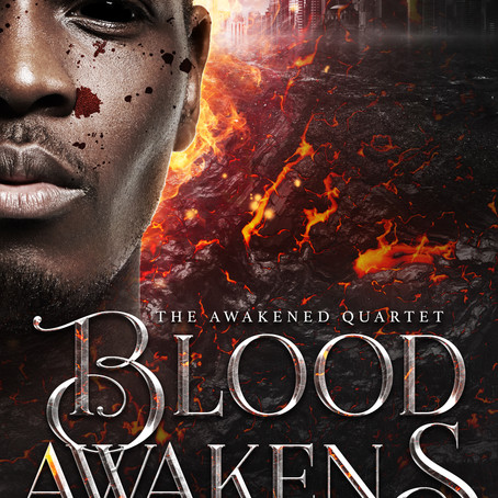 Blood Awakens: Book Cover Reveal