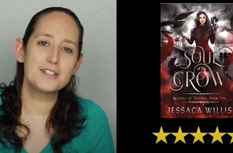 BookTuber Tabatha Shipley Gives Soul Of The Crow 5 Stars
