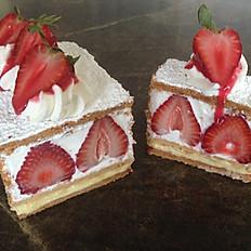 Strawberry Napoleon (Mille Feuille aux Fraises)