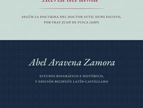 "Comentarios ""Acerca del alma"" según la doctrina del Doctor Sutil Duns Escoto, Juan de Fuica O.F.M.,"