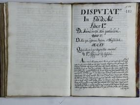 Disputationes in Libros De anima, Miguel de Ureta S. J., 1728