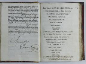 Logica Magna, sive Philosophia Rationalis, José Francisco Echaurren, 1796