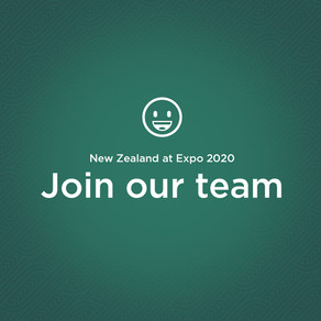 Internship Opportunities with the New Zealand Expo 2020 Dubai Team