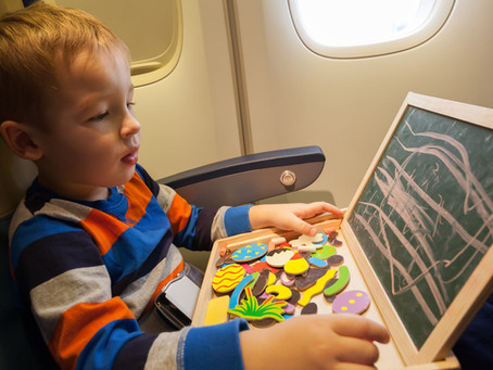 How to Keep Your Kids Healthy While Flying