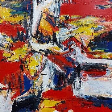 movement Series Bird Eye View 3x3 2002.j