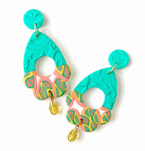 La Dolce Vita Simple Life Statement Earrings