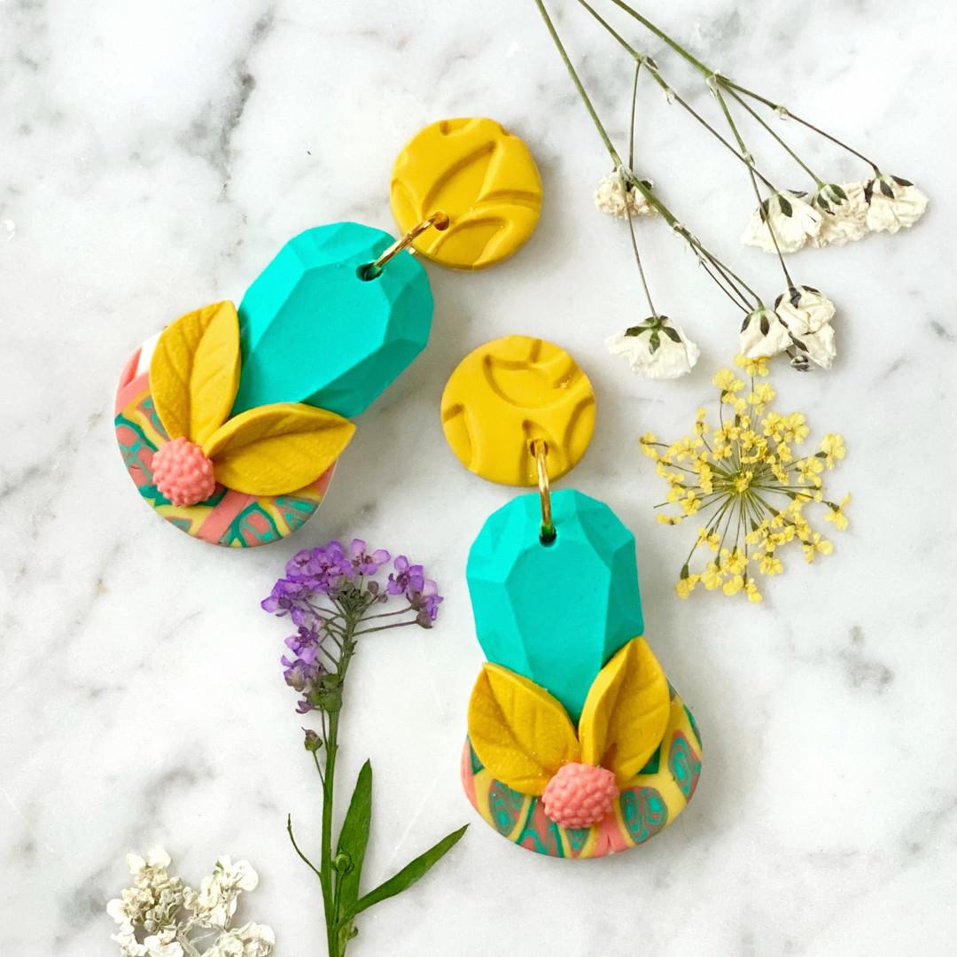 Joyful Jewel Statement Earrings