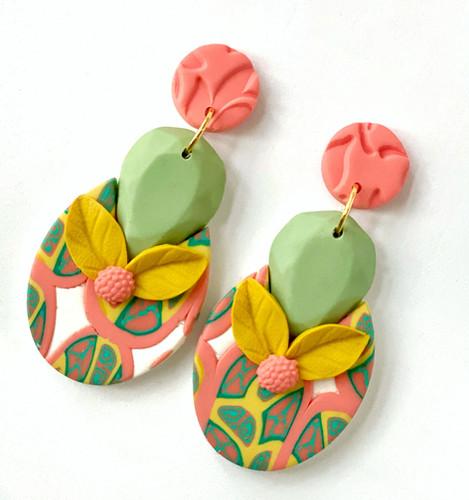 La Dolce Vita Juicy Jewels Statement Earrings