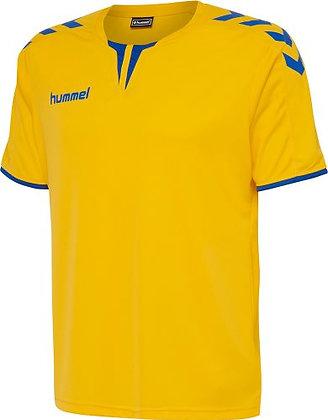T-Shirt HUMMEL Core SS Poly jaune bleu