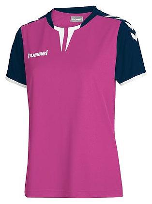 Maillot Core women ss jersey Hummel Rose violet/marine