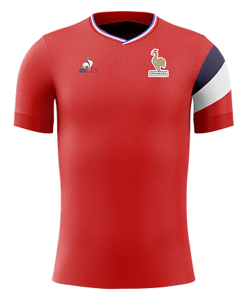 Maillot France rouge homme