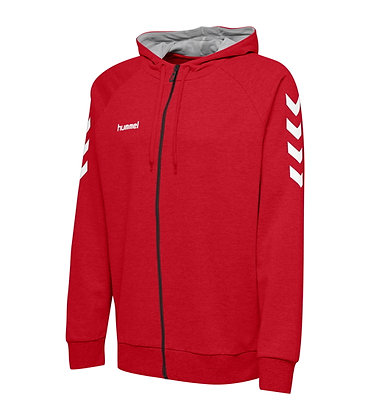 Sweat Zip Hummel HMLGO Rouge