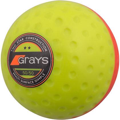 Balle 50/50 (2 couleurs au choix)