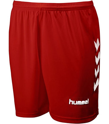 Short Chevrons Rouge/Blanc