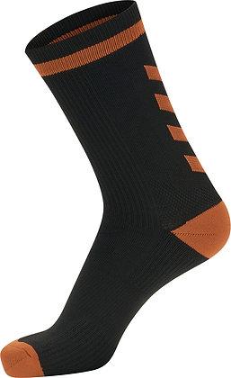 Chaussettes Elite noir/orange