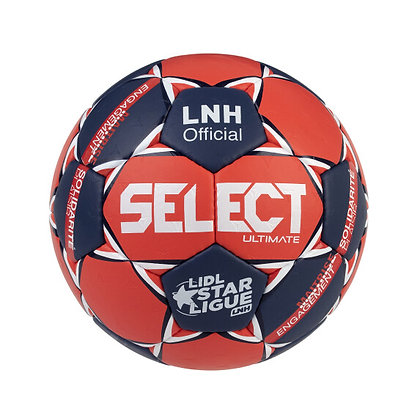 Ballon select Ultimate Lidl Officiel  rouge/bleu
