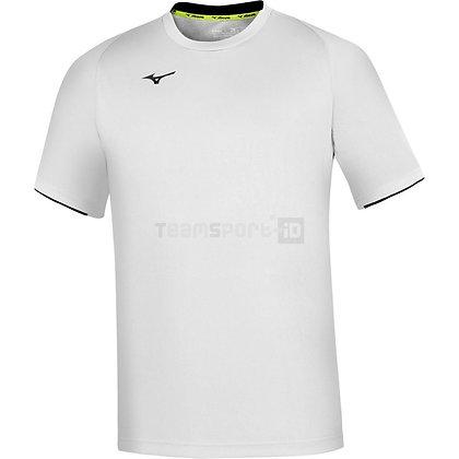 T shirt Mizuno Core SS Blanc/marine